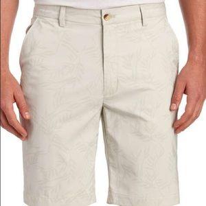 Greg Norman Collection Shorts - GREG NORMAN Palm Flat Front Golf Shorts 34
